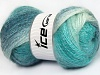 Mohair Pastel Turquoise Shades