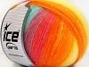 Angora Design Yellow Turquoise Salmon Orange Lilac Green