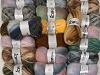 Mixed Lot Self-Striping Wool Yarns