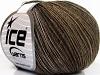 Sale Mohair-Wool Blend Brown Shades