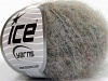 Kid Mohair Fine Grey Black Beige Melange