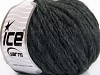 Wool Cord Bulky Anthracite Black