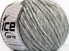Wool Cord Aran Light Grey