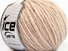 Wool Cord Aran Powder Pink