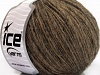 Flamme Wool Light Brown Melange