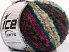 Boucle Wool Worsted Turquoise Maroon Fuchsia Beige