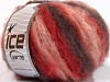 Kan Mohair Red Pink Maroon