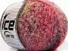 Sale Boucle Red Pink Shades Light Camel Grey