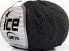 Air Wool Cotton Anthracite Black