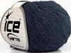Cotton Boucle Fine Navy