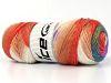 Rainbow White Turquoise Salmon Lilac Khaki