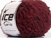 Boucle Wool Worsted Burgundy