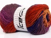 Rainbow Salmon Red Purple Navy Copper