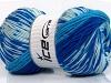 Jacquard Wool Blue Shades