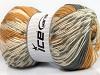Jacquard Wool Light Brown Grey Cream