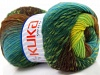 Magic Wool DeLuxe Yellow Green Brown