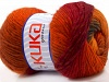 Magic Wool DeLuxe Red Orange Brown
