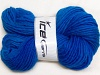 Hand-Dyed Wool Cord Blue