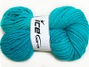 Hand-Dyed Wool Cord Emerald Green