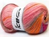 Angora Color Glitz Pink Shades Orange Lilac