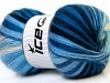 Angora Active White Navy Blue Shades