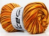 Wool DeLuxe Yellow Orange Brown