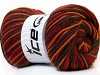 Wool DeLuxe Red Orange Khaki Brown