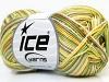 Almina Cotton Color Yellow White Khaki Green