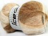 Bermuda Mohair White Cream Camel