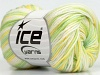 Baby Merino Deluxe Yellow Green Cream
