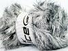 Faux Fur Color Beyaz Siyah