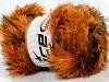 Faux Fur Color Orange Brown