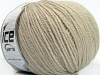 Pure Wool Dark Beige