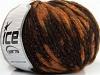 Twinkle Wool Orange Copper Black