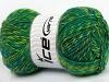 Mango Wool Turquoise Green Shades