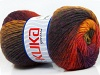 Magic Wool DeLuxe Yellow Red Purple Dark Grey