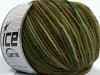 Superwash Merino Green Shades