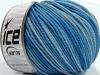 Superwash Merino Blue Shades