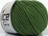 Superwash Merino Green