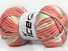 AntiPilling Color Bulky White Pink Light Brown Blue