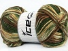 AntiPilling Color Worsted Green Shades Brown