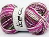 Fun Colors Bulky White Teal Purple Lavender Green