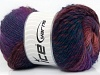 Sultan Wool Purple Maroon Blue