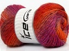 Sultan Wool Purple Shades Orange Shades