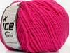 Superwash Wool Bulky Fuchsia