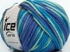 Superwash Wool Bulky Color Blue Shades