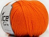 Superwash Wool Orange