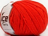 Superwash Wool Tomato Red