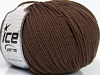 Superwash Wool Dark Brown
