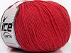 Superwash Wool Marsala Red
